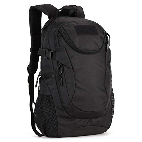 WUHUAROU Outdoor 25L Sport Bags, Fishing Hunting Camping Hiking Backpack Waterproof Nylon Schoolbag (Color : Brown)
