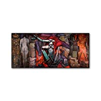 DIHEFAアートプリントキャンバス絵画壁アートポスターとリビングルームの装飾用の壁画写真をプリント 40x90cm [フレームなし]
