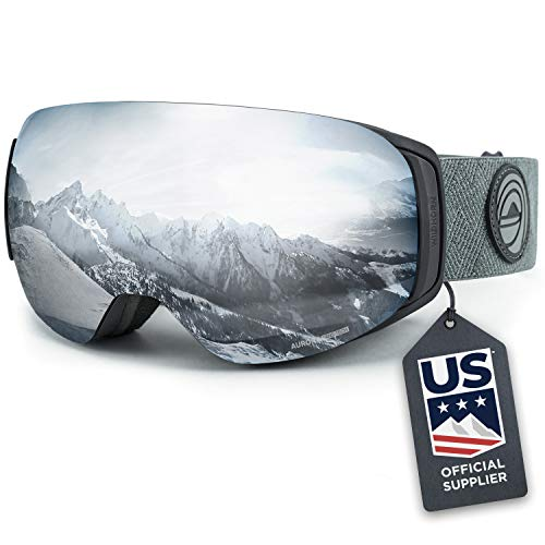 Wildhorn Roca Snowboard & Ski Goggles - US Ski Team Official Supplier - Interchangeable Lens -...