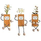 WYJBD 3 unids/Set Lindo Pared Creativa Colgante de la muñeca artesanía Colgante de la muñeca de la Pierna estatuillas decoración del hogar