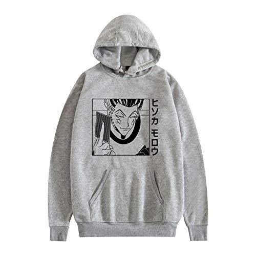 Mujere Hombre Unisex Sweatshirt Anime Hunter X Hunter Sudadera con Capucha Manga Larga Anime 3D Print Kurapika Hxh Devil Eye Hoodie Pullover Tops-A_M