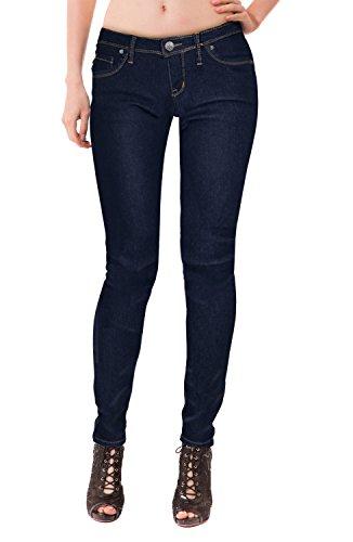 Hybrid & Company Super Comfy Stretch Denim 5 Pocket Jean Indigo 11