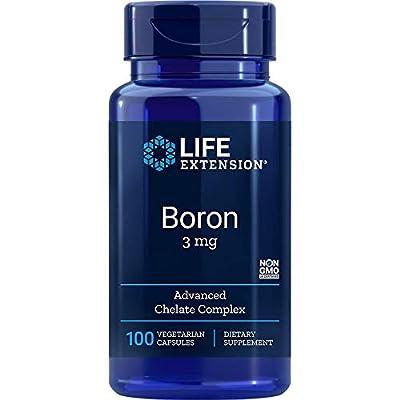 Life Extension Boron 3 Mg - 100 Vegetarian Capsules