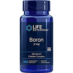 Life Extension Boron (3mg, 100 Vegetarian Capsules)