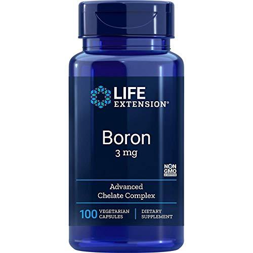Boro, 3 mg 100 cápsulas vegetarianas – Life Extension