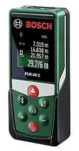 Bosch Home and Garden 0603672300 Medidor láser a distancia (2 pilas AAA 1.5V), 1.5 W