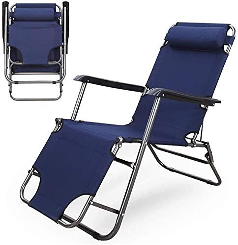 BANNAB Tumbonas para el Sol Zero Gravity Patio Tumbona Silla de jardín reclinable Silla Mecedora portátil Plegable al Aire Libre Soportes 120 kg Negro