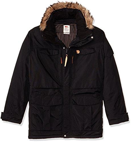 Fjallraven Herren Yupik Parka M Sport Jacket, Black, XXXL