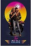 Refosian Top Gun Classic Vintage Film HD Kunst Poster Druck