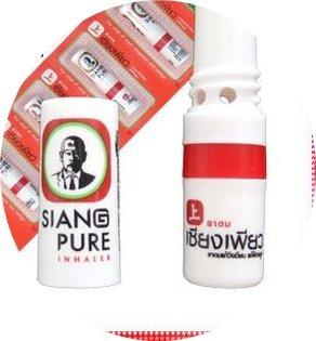 6 x SIANG PURE Inhaler Inhalierstift Riechstift - NEU