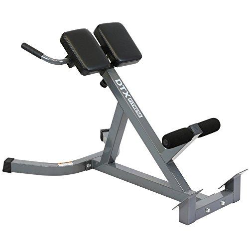 DTX Fitness Höhenverstellbare Verlängerungsbank zum Training der Rückenmuskulatur