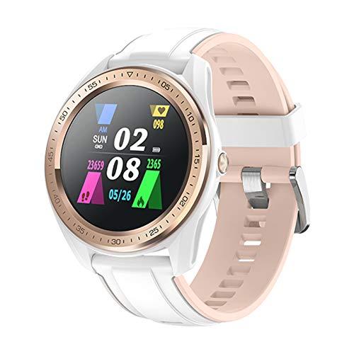 LZXMXR Reloj inteligente deportivo para mujer, ciclo menstrual multifunción información, recordatorio de llamadas, IP68, resistente al agua, color blanco