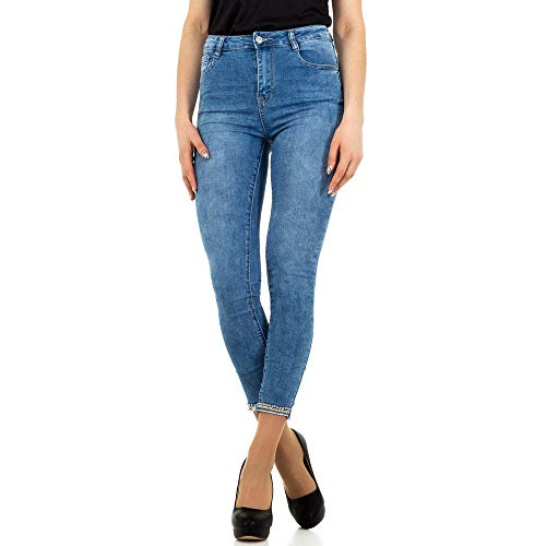 Ital Design HIGH Waist Skinny Jeans Laulia Gr. S/36 Blau