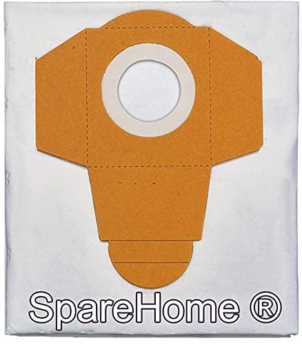 SpareHome® 5 Bolsas de alta filtración y rendimiento compatible con aspirador Dexter Aquavac