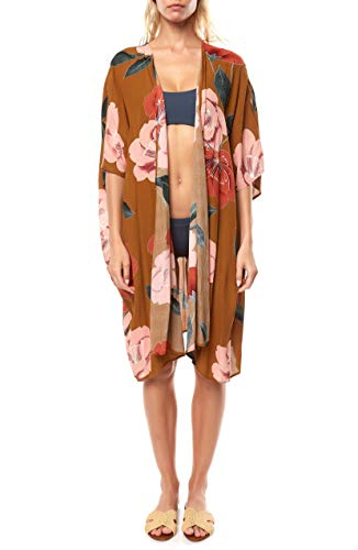 O'NEILL Kimberly Kimono Cover-Up Gold Coast MD/LG (US 5-11)