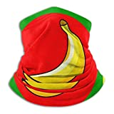 XJ-JX Banana Republic - Pasamontañas para el cuello con bandera de la República (forro polar), color negro