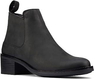 حذاء حريمي بكعب يصل إلى الكاحل من Clarks