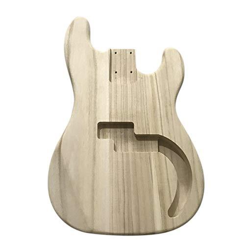 Lichtgewicht DIY onafgewerkte esdoorn hout elektrische gitaar Bass vat lichaam voor gitaar vervangen onderdelen