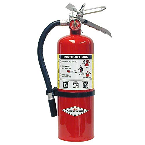 cheap Amerex B402, 5 lbs ABC Class ABC Wet Chemistry Fire Extinguisher with Wall Bracket