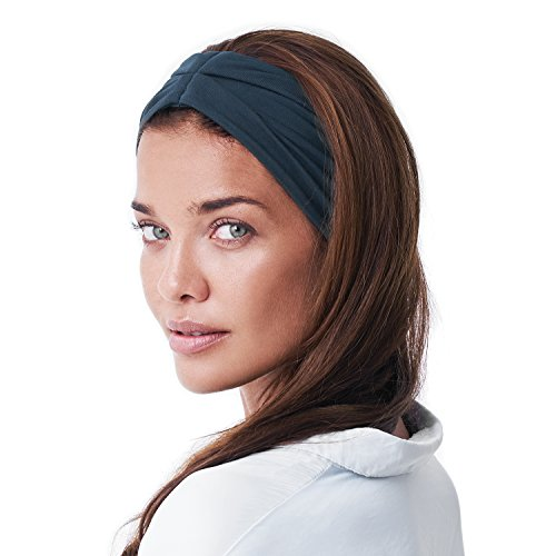 Multi Style Headband. Wear Wide Turban Thick Knotted. Comfort Stretch Versatility. for Women Yoga