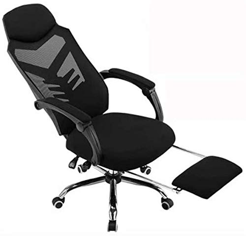 Noble Chair Schreibtischstuhl Büro Computerstühle Ergonomische Konferenz Executive Manager Arbeitsstuhl (Color : Black-1)