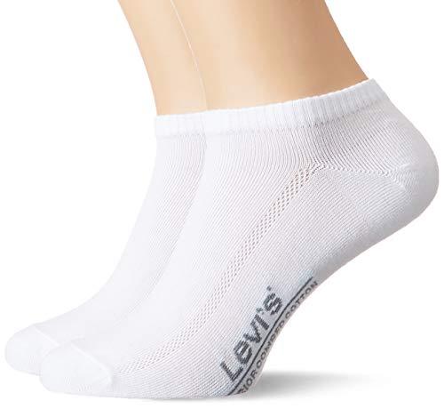 Levi's Herren LEVIS 168SF LOW CUT 2P Socken, Weiß (White 300), 43/46 (Herstellergröße: 043)