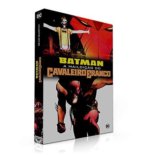 BOX PARA COLEÇÃO: BATMAN A MALDIÇÃO DO CAVALEIRO BRANCO (SOMENTE A CAIXA)
