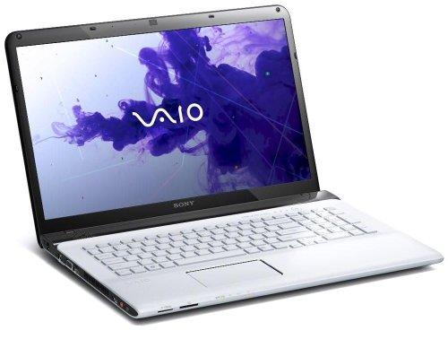 Sony VAIO SVE1712C1E - Ordenador portátil (Portátil, Color Blanco, Concha, 2,4 GHz, Intel Pentium, B980)