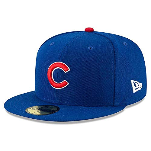 New Era - Chicago Cubs - 59fifty Basecap - Authentic On Field Mlb - Royal - 7 7/8 - 63cm (XXL)