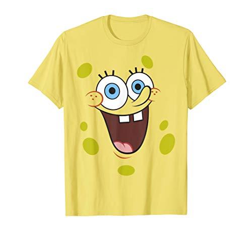 SpongeBob SquarePants Face Portrait T-Shirt