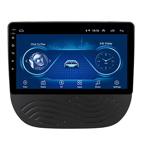 KLL Coche Bluetooth Radio para Chevrolet Malibu XL 2016-2018 2 DIN Pantalla Tactil 1080P Bluetooth Manos Libres DSP Salida de Video Controles del Volante Entrada AUX/CAM/DVR,WiFi+4g,2+32G