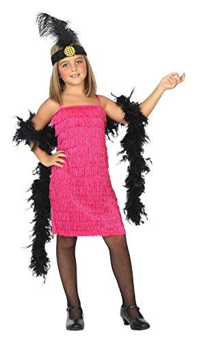 Atosa-39387 Disfraz Charleston, Color Rosa, 5 A 6 Años (39387)