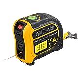 Laser Tape Measure, OLI 2-in-1 Laser Measure 131.2Ft, Tape Measure 16.5Ft/7.5M with Level