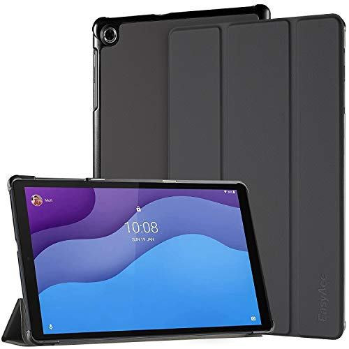 EasyAcc Funda para Lenovo Tab M10 HD 10.1 (2ª generación) TB-X306X / TB-X306F, Ultra Fina Funda con función Atril Auto Sleep Wake Up Función Slim, Negro
