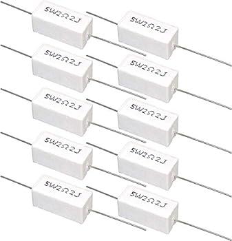 セメント抵抗 5W 2.2Ω 10個セット