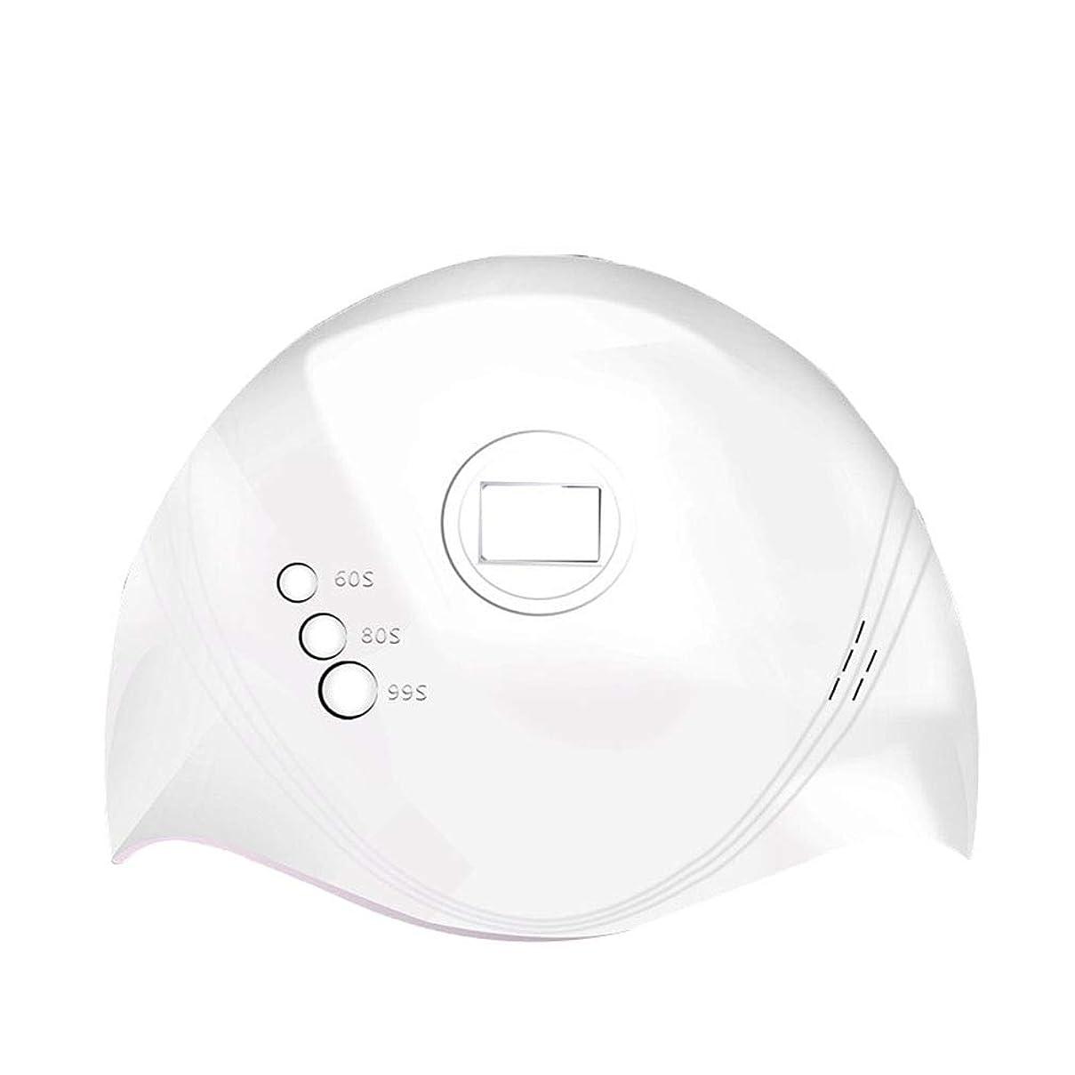 ロバインターネット想像力豊かな36Wネイルドライヤー、ネイル用ポータブルLED / UVランプ赤外線センサー付きネイルランプおよび60秒/ 80秒時間設定、99秒低発熱、すべてのゲルに対応