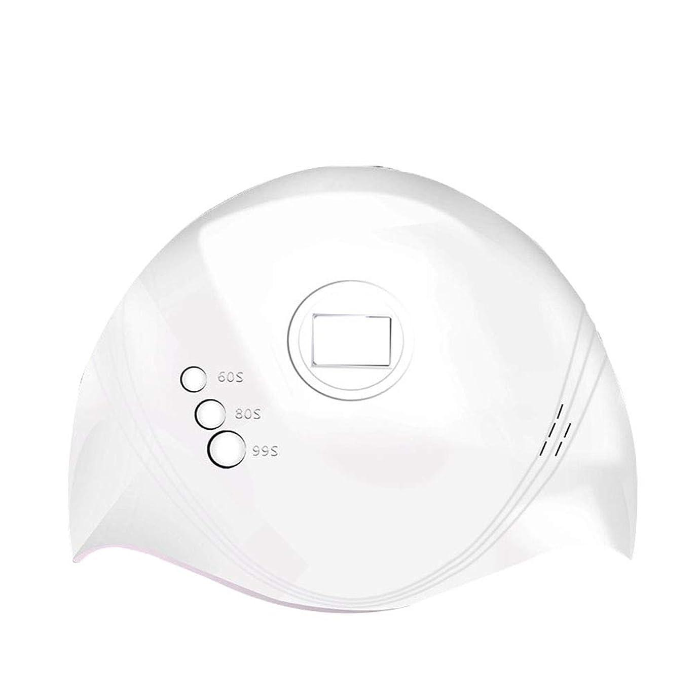 時代遅れ市の花乱暴な36Wネイルドライヤー、ネイル用ポータブルLED / UVランプ赤外線センサー付きネイルランプおよび60秒/ 80秒時間設定、99秒低発熱、すべてのゲルに対応
