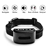 2020 Latest Model TIMPROVE Dog Bark Collar, Rechargeable Waterproof Anti Bark Dog Training