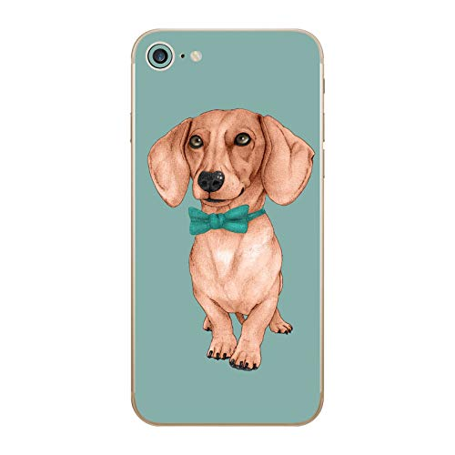 Head Case Designs Licenza Ufficiale Barruf Bassotto The Wiener Cani Vinile Sticker Pelle Adesivo Compatibile con Apple iPhone 7 / iPhone 8 / iPhone SE 2020