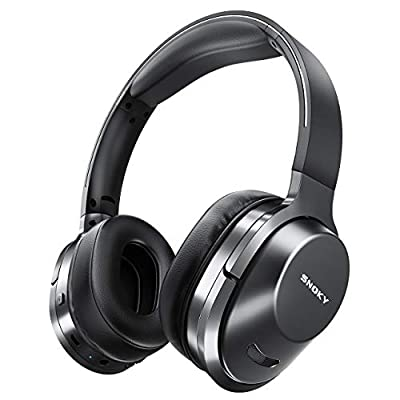 Snoky Bluetooth 5.0 Headphones Hi-Fi Stereo Deep Bass 26H Playtime