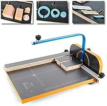 Foam Cutting Machine, TBVECHI Hot Wire Foam Cutting Machine Cutter Working Table Tool Foam Styrofoam+Power Adapter KD-6 Black