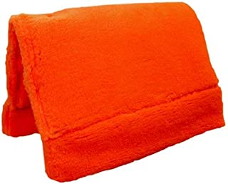 TrailMax Fleece Pack Pad For Pack Saddle, Featuring Quality Kodel Fleece And Felt Padding, For Use With Sawbuck Or Decker Pack Saddle, Intended For Horse/Mule Packing Available in Brown, Green, Orange