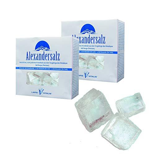 Lapis Vitalis, Alexandersalz, Himalaya Salz Halit Salz-Kristalle 2 kg - 2x 1 kg Karton