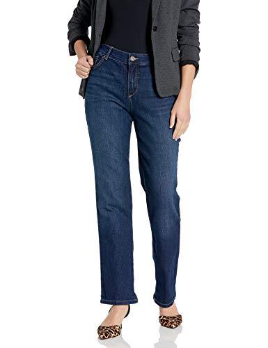 Bandolino womens Mandie Signature Fit 5 Pocket Jeans, Greenwich, 16 US