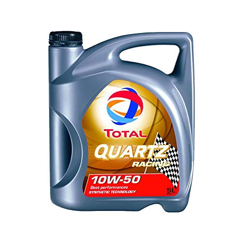 Total Quartz Racing 10W-50 Motoröl, 5Liter