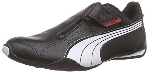 PUMA Redon Move, Unisex Sneaker, Schwarz (Black-White-HIGH Risk RED 02), 38 EU (5 UK)