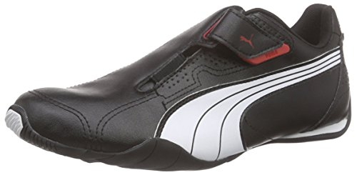 Puma Unisex-Erwachsene Redon Move Low-Top, Schwarz (Black-White-High Risk red), 38 EU