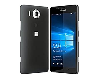 Microsoft Lumia 950 32GB Dual Sim NAM RM-1118 GSM Factory Unlocked - US Warranty  Black