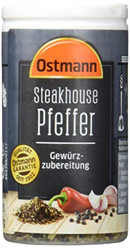 Ostmann Steakhouse Pfeffer, 4 er Pack (4 x 50 g)