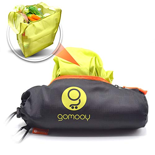 GOMOOY Set 5 Bolsas Reutilizables Compra Shopping Bag Carro De Compra | CONTENEDOR INNOVADOr | Bolsa Shopper Lotus Trolley Tote Bag | Bolsos Carrito De Compras Supermercado | Bolso Cochecito Plegable